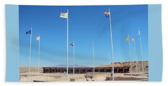 Four Corners Monument Beach Towel