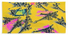 France Romance Beach Towel