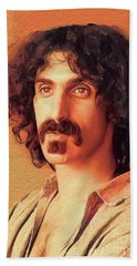 Frank Zappa, Music Legend Beach Towel