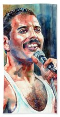 Freddie Mercury Live Aid Beach Towel