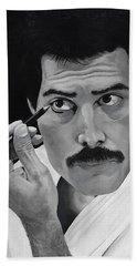 Freddie Mercury Beach Towel