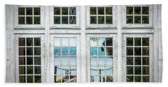 Fredensborg Palace Boathouse Doors Beach Towel