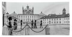 Fredensborg Palace Changing Of The Guard Beach Towel