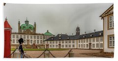 Fredensborg Palace Guard Station Beach Towel