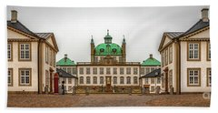 Fredensborg Palace Panoramic Stitch Beach Towel