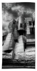 Frederick R Weisman Art Museum Frank Gehry University Of Minnesota Beach Towel