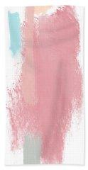 Fresh Abtract 3 Tall- Art By Linda Woods Beach Towel