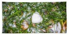 Beach Towel featuring the photograph Fresh Snow by Jon Burch Photography