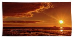 Friday Sunset Beach Towel