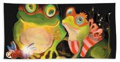 Frogs Overlay  Beach Sheet