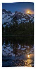 Designs Similar to Full Moonrise Over Picture Lake