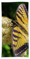 Fuzzy Butterfly Beach Towel