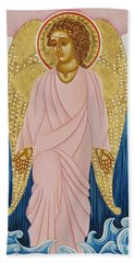 Gabriel, Angel Of Water Beach Towel