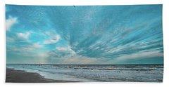 Galveston Island First Light Beach Sheet