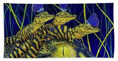 Gator Nursery  Beach Towel