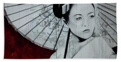 Geisha Beach Towel