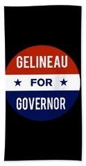 Gelineau For Governor 2018 Beach Towel