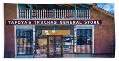 Beach Towel featuring the photograph General Store by Robert FERD Frank