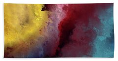 Genesis 1 3. Let There Be Light Beach Towel