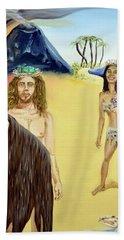 Genesis Beach Towel