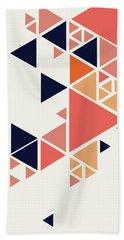 Geometric Painting 1 Beach Towel