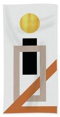 Geometric Painting 10 Beach Towel