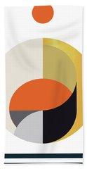 Geometric Painting 12 Beach Towel