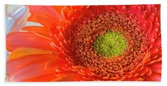 Gerbera Gorgeous  Beach Towel