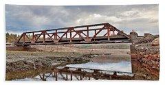 Ghost Bridge - Colebrook Reservoir Beach Sheet