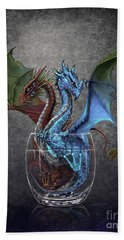 Gin And Tonic Dragon Beach Towel