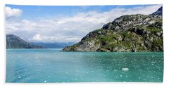 Beach Towel featuring the photograph Glacier Bay 6 by Dawn Richards
