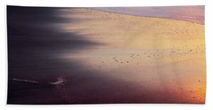Beach Towel featuring the photograph Gleneden Glow by Whitney Goodey