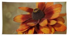 Beach Towel featuring the photograph Gloriosa Daisy by Jacqui Boonstra
