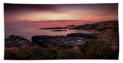 Godrevy Sunset - Cornwall Beach Sheet