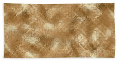 Beach Towel featuring the photograph Gold Metal  by Top Wallpapers