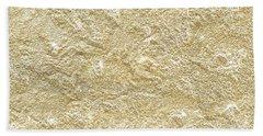 Gold Stone  Beach Towel