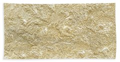Beach Towel featuring the photograph Gold Stone  by Top Wallpapers