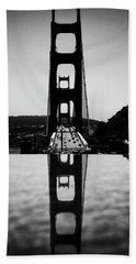 Golden Gate Reflection Beach Towel