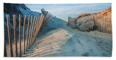 Golden Glow Dunes Beach Towel