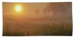 Golden Morning Beach Towel