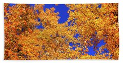 Golden Oaks Beach Towel