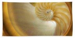 Golden_nautilus_0692 Beach Towel