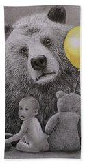 Goldilocks And The Three Bears Beach Towel