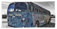Beach Towel featuring the photograph Good News Still Travels by Andrea Platt