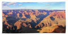 Beach Towel featuring the photograph Grand Canyon Near Sunset by Dawn Richards