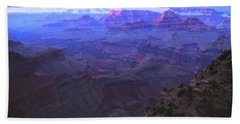 Grand Canyon Twilight Beach Towel