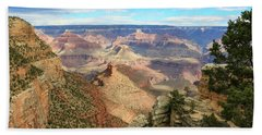 Grand Canyon View 3 Beach Towel