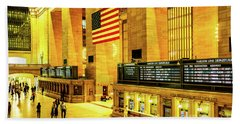 Grand Central Station Beach Towel
