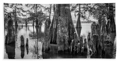Grand Lake Cypress Beach Towel