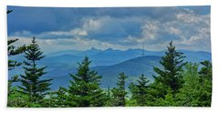 Grandmother Mountain Beach Towel